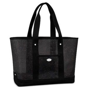 COACH FRAGRANCE BLACK SPARKLE TOTE BAG - NEW